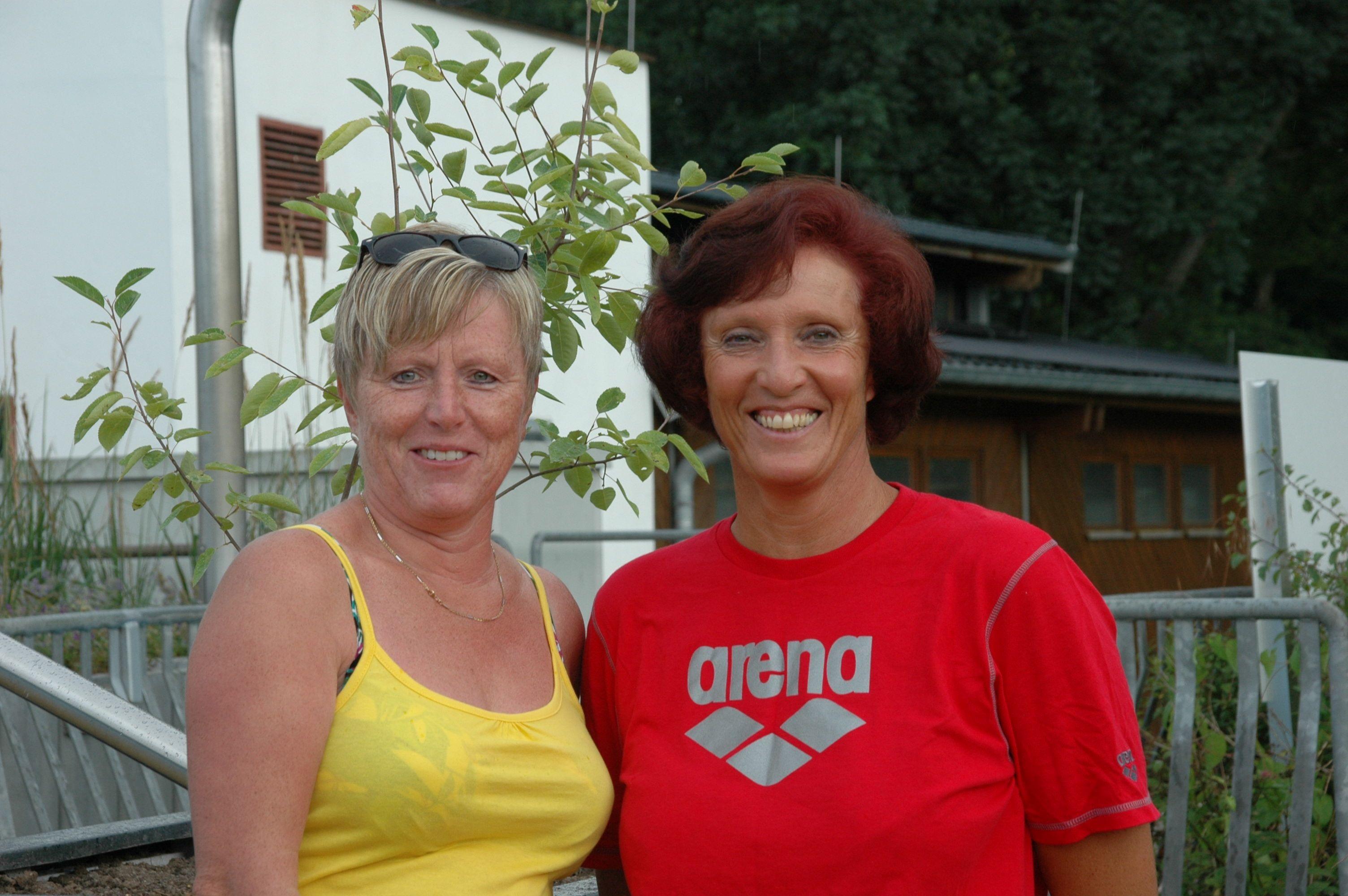 Sylvia Mayer und Monika Lachmann